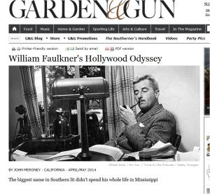 Faulkner in Hollywood